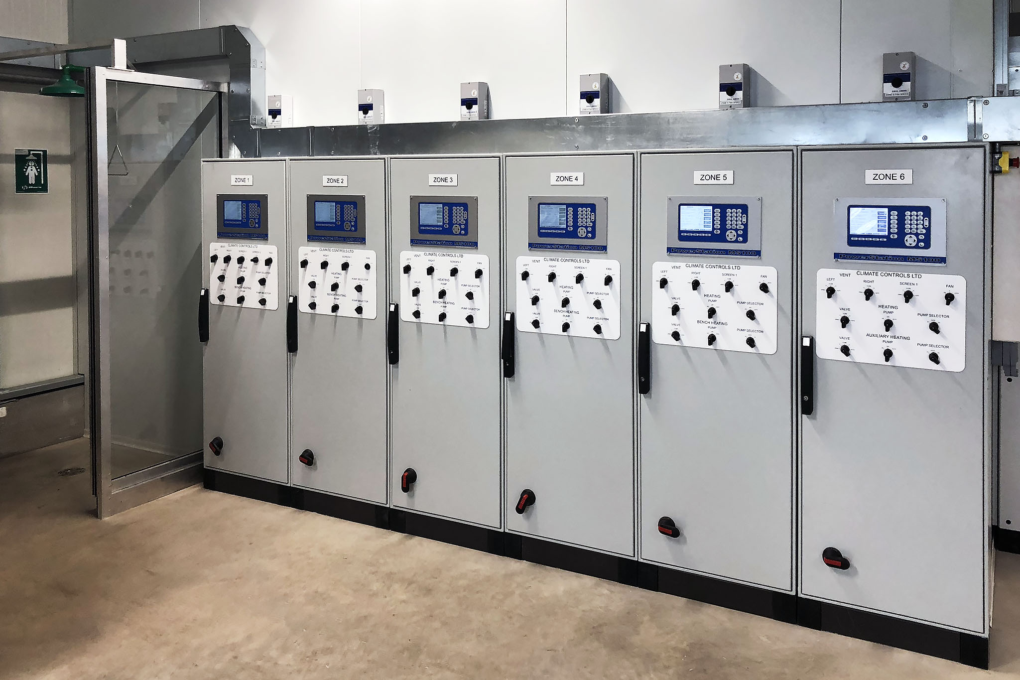 Greenhouse computerised environment controls